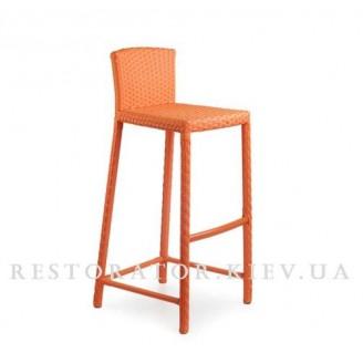 Плетеный стул Барный из техноротанга  Restor®