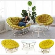 Мебель из литого алюминия Папасан компании Restor®