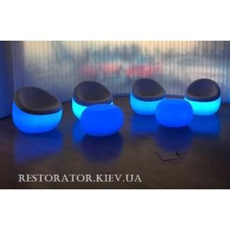Кресло с мягким сидением и подсветкой - Restor®