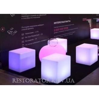 Пуф Куб 430 с подсветкой - Restor®
