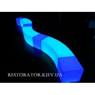 Софа/стул Волна с подсветкой - Restor®