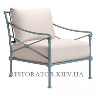 Кресло литое из алюминия Монтенегро (Верона) лаунж - Restor®