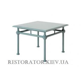 Стол литой из алюминия Монтенегро (Верона) квадратный HPL - Restor®