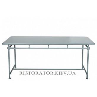Стол литой из алюминия Монтенегро (Верона) прямоугольный HPL 1200*800 - Restor®