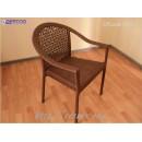 Кресло плетёное Klasik-1501.1, техноротанг (искусственный ротанг), всесезонное, для летней площадки, террассы....