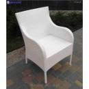 Кресло плетёное Klasik-1527, техноротанг (искусственный ротанг), всесезонное, для летней площадки, террассы, кафе,бара,ресторана, гостинницы....