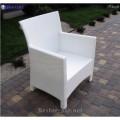 Wicker chair Klasik-1506 Tehnorotang (artificial rattan), all-weather furniture