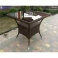 Wicker table Klasik-1508 Tehnorotang (artificial rattan), all-weather furniture