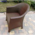 Wicker chair Klasik-1514 Tehnorotang (artificial rattan), all-weather furniture