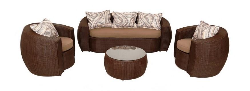 Плетёная мебель из из искусственного ротанга серии Элит