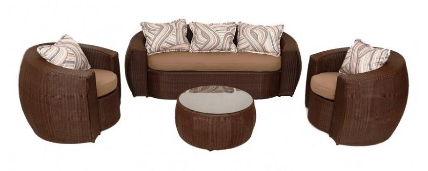Плетёная мебель из искусственного ротанга серии Элит